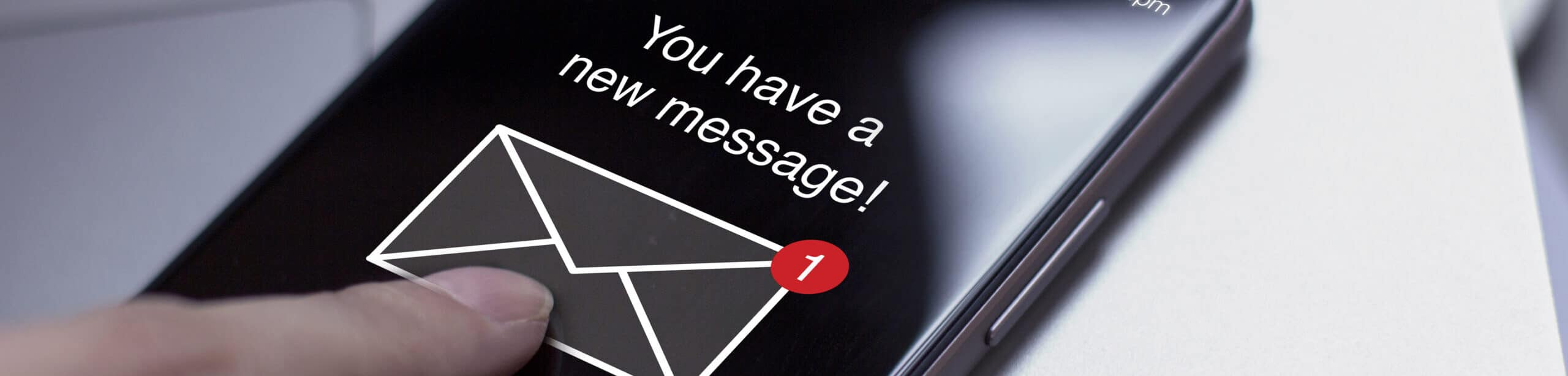 contact us new message icon.