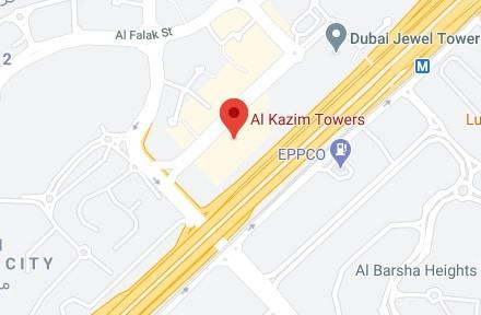 Telegram head office location on map