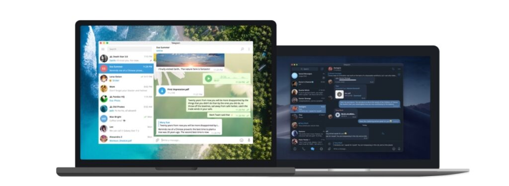 Telegram for mac pc linux and macOS
