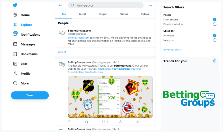 Twitter-screen-for-search-option