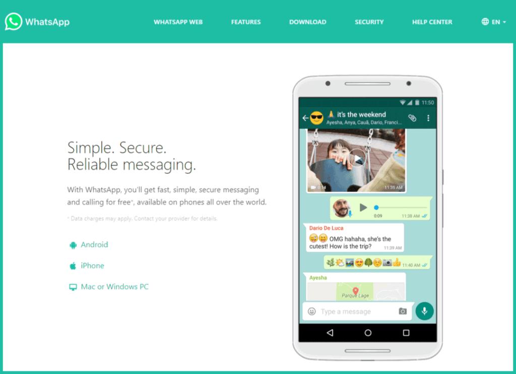 Whatsapp-website-screen-shot